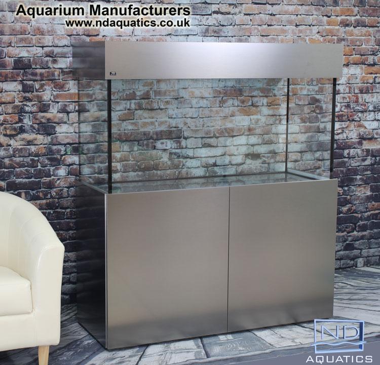 48x24x18  Tropical fish tank ,Cabinet Metalic