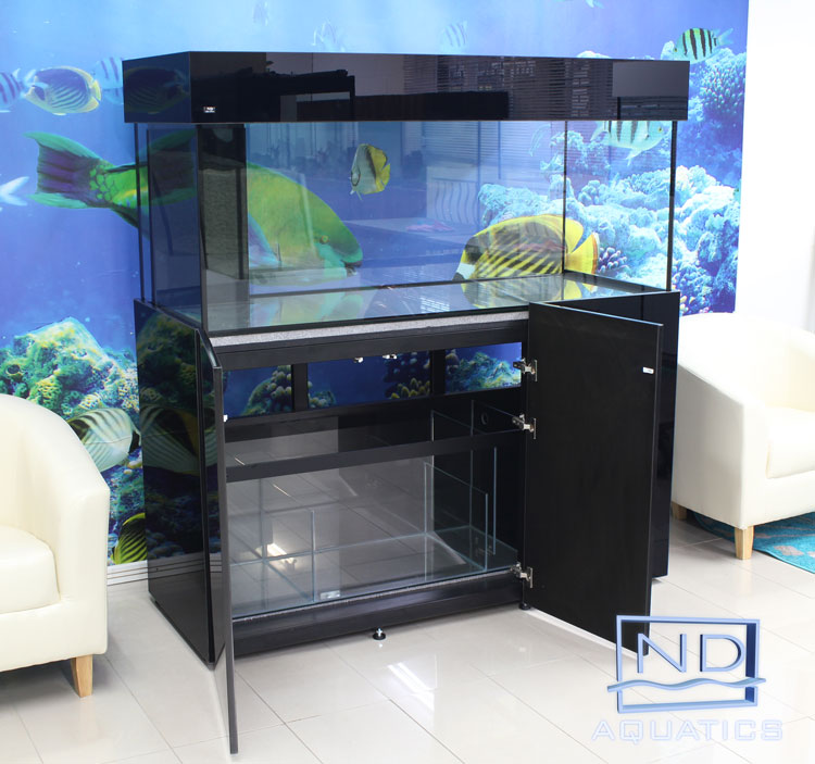 60x24x24 Marine Aquarium.Metal framed cabinet