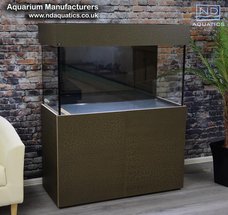 Tropical Aquarium.Cabinet - crackle finish
