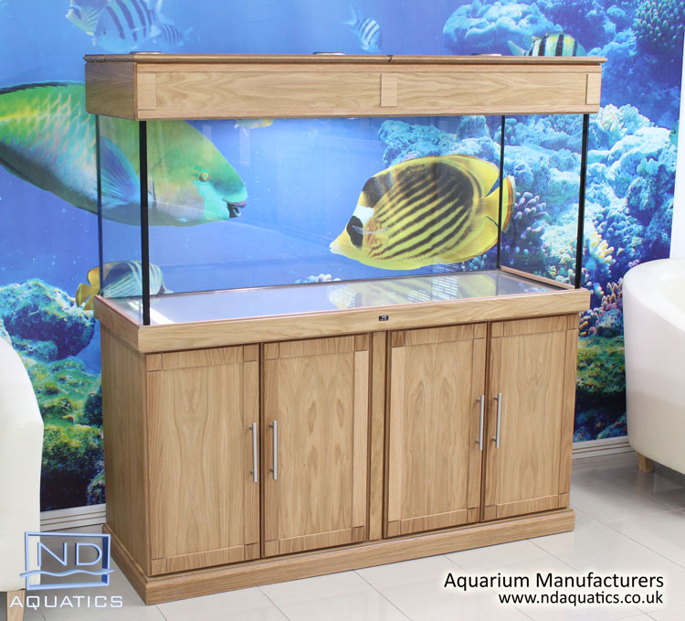 60x24x18 Tropical fish tank.Cabinet - Shaker style