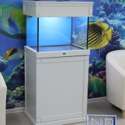 24x18x18 Marine fish tank. Cabinet - Painted ,Shaker style