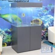 36x30x24 Tropical fish tank.Scandinavian Style.MDF Veneer  Grey