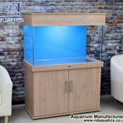 40x24x20 Tropical fish tank.Swiss Collection.London Oak