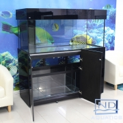 60x24x24 Marine Aquarium.Metal framed cabinet