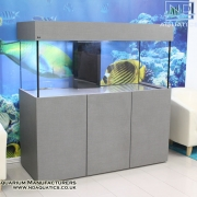 60x24x24 Marine fish tank with cabinet