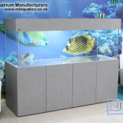 72x24x24 Tropical fish tank.