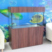 48x24x24 Tropical aquarium. Cabinet- Scandinavian Style.
