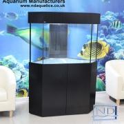Marine Corener fish tank,Black ASh