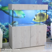 48x24x18 Tropical fish tank & cabinet. Natural Touch range.
