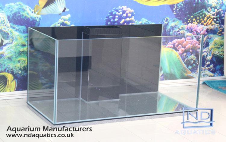 48x24x24 Braceles/Rimless Marine glass tank