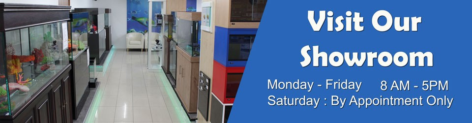 Visit ND Aquatics Showroom