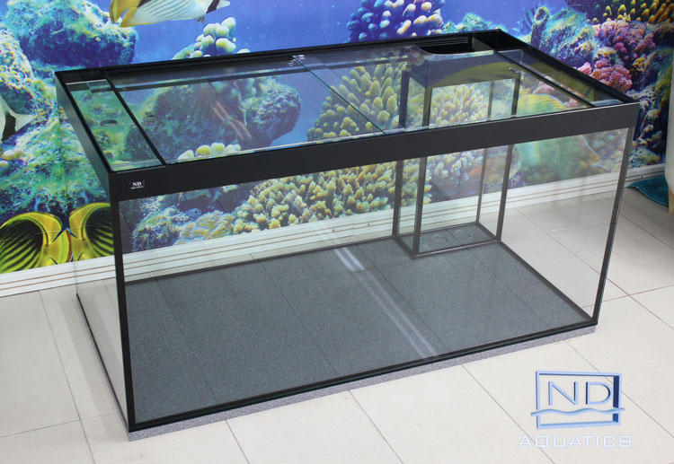 Custom Made 50x24x24 Marine Aquarium Aquarium