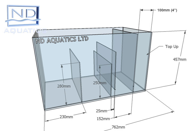 Sump Tanks Aquarium Manufacturers Nd Aquatics Ltd