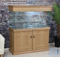 48x24x18 Tropical Oak victorian style tropical fish tank