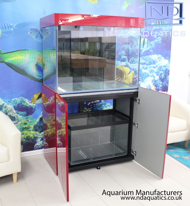 Metal Framed Cabinets | Aquarium Manufacturers - ND AQUATICS LTD