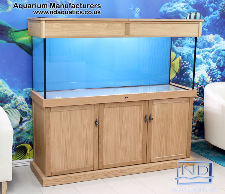 Marine Kitchen Cabinets: 72″ X 24″ X 18″ Tropical Aquarium & Cabinet