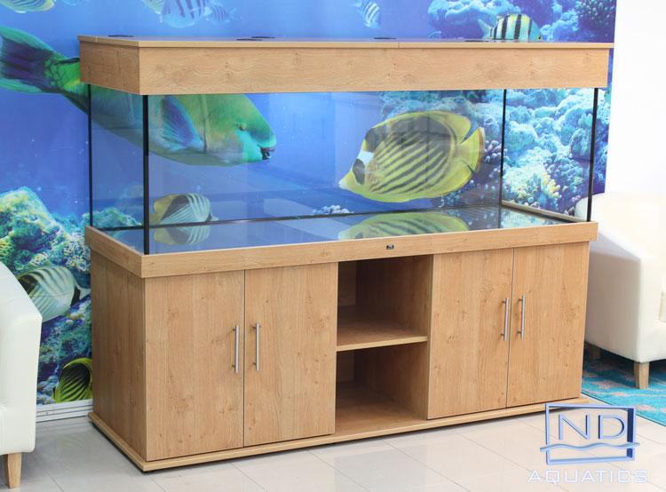 how to build a fish tank cabinet and hood